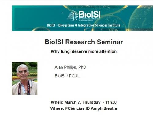 BioISI Seminar: Alan Philips, March 7, 11h30, FCiências.ID Amphitheatre